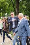 Kyiv Vitali Klichko市长 免版税图库摄影