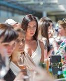 Kyiv wina festiwal Dobrym winem w Ukraina Fotografia Stock