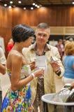 Kyiv Wine Festival in Kiev, Ukraine. Royalty Free Stock Photos