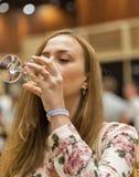 Kyiv Wine Festival in Kiev, Ukraine. Stock Images