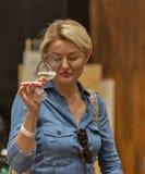 Kyiv Wine Festival in Kiev, Ukraine. Royalty Free Stock Photography