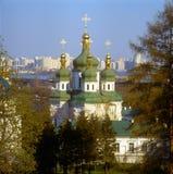 kyivklosterukraine vidubichi Royaltyfri Foto