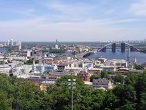Kyivs-` KY-Stadtlandschaft Stockbild
