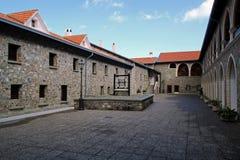 Kykkos修道院在塞浦路斯 库存照片
