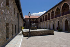 Kykkos Kloster Lizenzfreie Stockfotos
