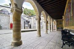 Kykkos kloster i Cypern Arkivfoto