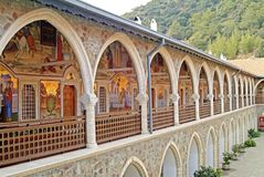 Kykkos monaster - Troodos, Cypr zdjęcia royalty free