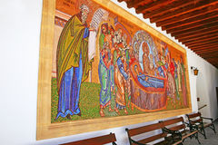 Kykkos Monastery. The Holy Monastery of the Virgin of Kykkos in Troodos mountains, Cyprus Royalty Free Stock Photos