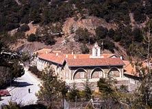 Kykkos Monastery, Cyprus. Stock Image