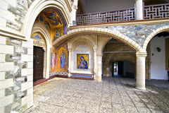Kykkos monastery in Cyprus royalty free stock photography