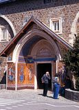 Kykkos Monastery entrance, Cyprus. Royalty Free Stock Photography