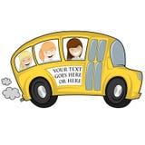 Kyla bussen Arkivfoton