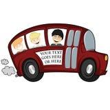 Kyla bussen Arkivbilder