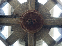 Kyla tornfanen Fotografering för Bildbyråer