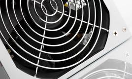 Kyla upp fanskyddsgallerslut med reflexion Arkivbild