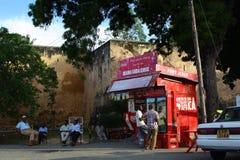 Kyla vid fortet Jesus mombasa Arkivfoton
