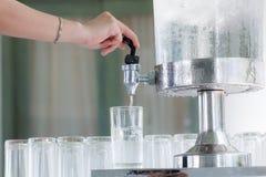 Kylare för kallt vatten royaltyfria foton