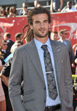 Kyle Beckerman. LOS ANGELES, CA - JULY 16, 2014: US soccer star Kyle Beckerman at the 2014 ESPY Awards at the Nokia Theatre LA Live Royalty Free Stock Photography