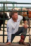 Kyle Bowers Warming Up Royalty Free Stock Image