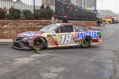 Kyle Busch στο Joe Gibbs #18 NASCAR στοκ εικόνες