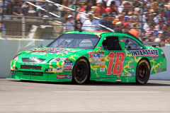 Kyle Busch. Drives the #18 Interstate Batteries Toyota during the NASCAR Sprint Cup Samsung 500 at Texas Motor Speedway on April 6th, 2008  in Fort Worth, Texas Stock Images
