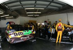 Kyle Busch in Daytona Immagine Stock