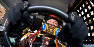 Kyle Busch NSCS Pepsi-cola 500 immagine stock