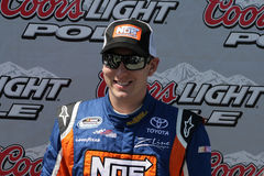 Kyle Busch Pole at Nashville royalty free stock photo