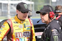 Kyle Busch at Watkins Glen Royalty Free Stock Images