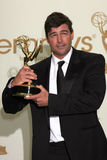 Kyle Chandler. LOS ANGELES - SEP 18:  Kyle Chandler in the Press Room at the 63rd Primetime Emmy Awards at Nokia Theater on September 18, 2011 in Los Angeles, CA Royalty Free Stock Images