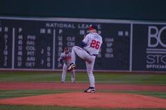 Kyle Davies, Atlanta Braves. Atlanta Braves P Kyle Davies royalty free stock photography