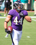 Kyle Juszczyk. Baltimore Ravens RB Kyle Juszczyk Royalty Free Stock Photo