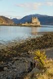 Kyle of Lochalsh, Scotland - circa March 2013: A view of Eilean Donan Castle Stock Photo