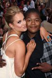 Kyle Massey,Lacey Schwimmer Royalty Free Stock Photography