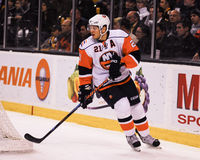 Kyle Okposo, New York Islanders #21 Στοκ Εικόνες