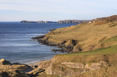 Kyle of Tongue, Scotland. Tong Bay (Kyle of Tongue) , the northern Scotland, UK Royalty Free Stock Photography