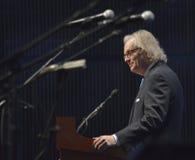 Kyle Young på countrymusiken Hall av den storslagna öppningen för berömmelse Royaltyfri Bild