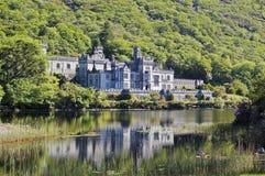 Kylemore修道院爱尔兰 免版税库存照片