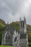 Kylemore修道院的,爱尔兰新哥特式教会 免版税库存图片