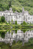 Kylemore修道院Connemara爱尔兰 库存照片