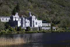 Kylemore Abbey Royaltyfria Bilder