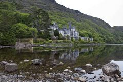 Kylemore Abbey. Connemara, County Galway, Ireland Royalty Free Stock Photo