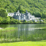 Kylemore Abbey. In County Galway, Ireland Stock Photography