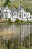Kylemore abbey. View of abbey at Connemara, Ireland Royalty Free Stock Photo