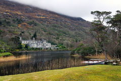 Kylemore Abbey. View of Kylemore Abbey, Connemara, Ireland Royalty Free Stock Images