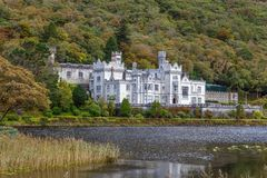 Kylemore Abbey, Ireland royalty free stock image