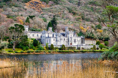Kylemore Abbey. A Benedictine monastery in on the grounds of Kylemore Castle, in Connemara, County Galway, Ireland Royalty Free Stock Photos
