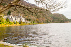 Kylemore Abbey. A Benedictine monastery in on the grounds of Kylemore Castle, in Connemara, County Galway, Ireland Stock Photography