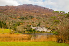 Kylemore Abbey. A Benedictine monastery in on the grounds of Kylemore Castle, in Connemara, County Galway, Ireland Royalty Free Stock Image