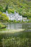 Kylemore Abbey Castle Stock Photo